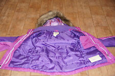 Cherokee purple+violet little girls coat