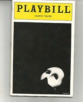 THE PHANTOM OF THE OPERA - DECEMBER, 1992 - MAJESTIC - MARK JACOBY, K. CULLIVER