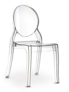 Plexiglass Acrylic Ghost Chair Original Elizabeth Siesta Exclusiv.keine China