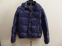 giubbotto ragazzo piumino d'oca WOOLRICH blu jacket kid 14 anni