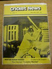 20/05/1978 Cricket News: Vol.02 No.04 - A Weekly Review Of The Game, Focus On Gr