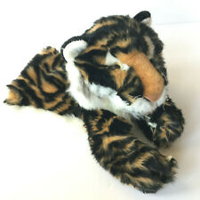 Folkmanis Tiger Stage Puppet Preschool Toys Pretend Play Hand Puppet 13'' (Rare)