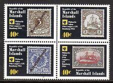 Marshall Islands - 1984 UPU congress - Mi. 15-18 MNH