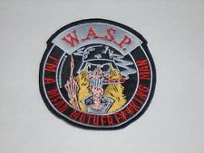 W.A.S.P. WASP EMBROIDERED PATCH