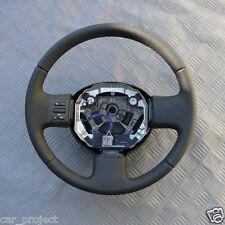 Nissan Micra III K12 Lenkrad Neubezogen, schwarz.Volante. Steering wheel