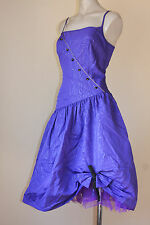 CUTE VINTAGE DAISY BUTTONS DOLLY COCKTAIL TULLE PARTY DRESS 12