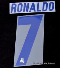 Real madrid ronaldo 7 2016/17 football shirt nom/numéro set home la liga