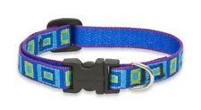 "Lupine Dog Collar 1"" SEA GLASS 16"" - 28"" Aqua Blue Green Purple New Made in USA"