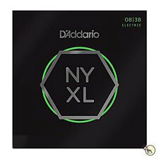 D'Addario NYXL 0838 Nickel Wound Extra Super Light Electric Guitar Strings 8-38