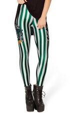 Snazzy's Quality woman's Printed Slytherin Stretchy Leggings Teens Funky Pants
