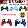 Camo Silicone Rubber Soft Skin Case Cover Grip For Playstation 5 PS5 Controller