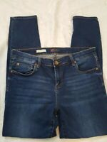 Kut from the Kloth Stretch Mia Toothpick Slim Skinny Blue Jeans Women's 14S
