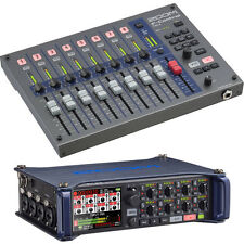 Zoom F8 Multitrack Field Recorder Kit with F-Control Mixe