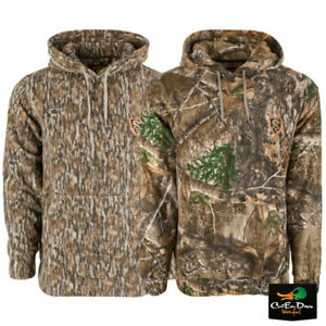 NON-TYPICAL BY DRAKE - STORM FRONT FLEECE MIDWEIGHT 4-WAY STRETCH HOODIE WITH AG