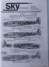 Skymodels 1/72 72019  WW2 Italian Bombers decal set