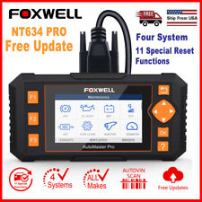 FOXWELL Automotive ABS Airbag SRS SAS EPB Reset OBD2 Code Reader Diagnostic Tool