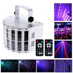 30W Sound Active LED Laser Stage Lights Effect RGB Show Disco DJ Party Bar Light