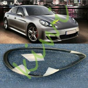 For Porsche Panamera 2010-2013 Right Side Headlight Clear Cover + Glue