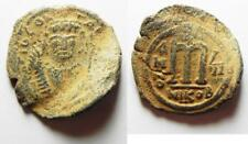Zurqieh -aa8330- Byzantine. Tiberius Ii Constantine Ae Follis.