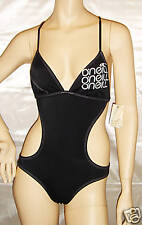 O'NEILL 1 PC Monokini Swimuit Small Black/White NWT
