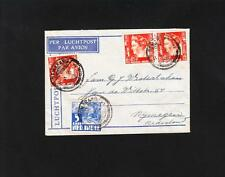 Dutch East Indies 1936 Semarang Java to Netherlands Small Air Mail Cover Z87