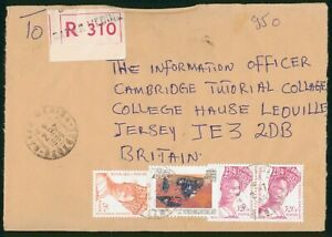 MayfairStamps Senegal to Jersey Britain 1999 Cover wwp62359