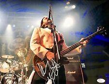 Lemmy Kilmister Motörhead Signed 11x14 Photo Jsa Q06435