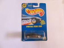 1990 Hot Wheels Pontiac Fiero 2M4 No 114 UH wheels, unpainted base w speed point