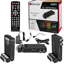 DVB-T2 FULL HD TV Opticum AX Lion Air 2 H.265 Receiver HEVC HDMI USB Scar
