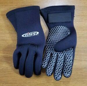 Tilos 5mm Professional Scuba Gloves Size XS / X Small Neoprene Dive 5 mm   #620