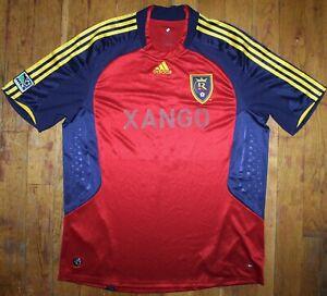 "2008-09 Adidas Real Salt Lake City #5 Kyle Beckerman ""Xango"" Home Jersey"