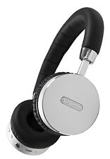 Diskin DH3 Bluetooth Wireless On-Ear Stereo Headphones with Microphone and Volum