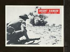 1965 Philadelphia War Bulletin #12 DESERT DANGER VG-EX (JU14)