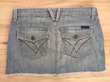 81c7a5d20c WILLIAM RAST DISTRESSED WOMEN'S DENIM SEXY MINI SKIRT WOMEN'S ...