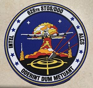 USAF 625th STOS/DOO, INTEL, ALCS, RUBBER NUCLEAR PATCH