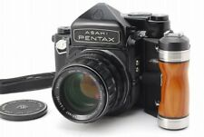 eb39 【N USED】 Pentax 6x7 TTL Mirror Up + 105mm 2.4 + Grip 67 from Japan