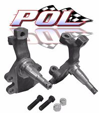 "GM 2"" Drop Spindles, Chevelle, Camaro, Nova, A F X Body Disc Brake Spindles,"