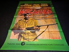 MOGAMBO clark gable  affiche cinema