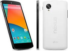 LG Google Nexus 5 32Gb White Pre-owned with Scratches + 3 Months Seller Warranty