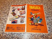 ALBUM PARATA DISNEY FERRERO 1957(RETRO PAPERINO) CON 26 FIGURINE TIPO LAMPO EDIS