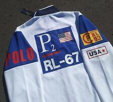 NWT Polo Ralph Lauren 1993  P2 CP RL 93 USA Sailing Team Track Jacket Size Large