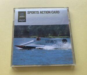 original MINOLTA Sp SPORTS ACTION CARD Japan + OVP