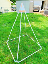 MEDITATION PYRAMID 6 FT SIDES 4 FT BASE MADE FROM PVC