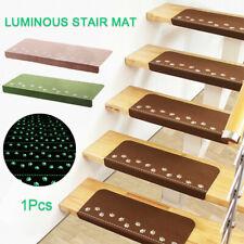 Luminous Self-adhesive Stair Tread Mats Anti-slip Stair Floor Cover Tread Mat
