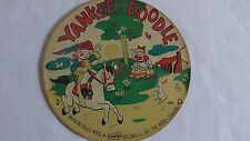 The Merry Singers - 78rpm single 7-inch – Picture Tone #M-305-6 Yankee Doodle