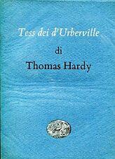 Thomas Hardy = TESS DEI D'UBERVILLE