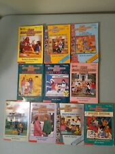Lot of 10 Baby-Sitters Club Books #1 4 5 7 21 28 25 41 100 & A Special Edition
