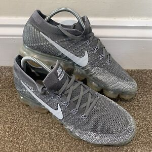 Nike Air Vapormax Flyknit Mens Grey Trainers UK Size 7