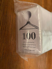 Plastic Tags 001 100 Fits Over Hanger To Number Clothes Clothing Business Ebay