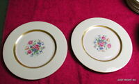 "{SET OF 2} Theo Haviland NY (Gainsborough) 10 3/4"" DINNER PLATES GUC (4 avail)"